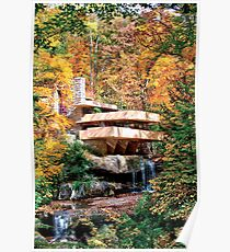 Frank Lloyd Wright Fallingwater Poster
