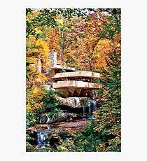 Frank Lloyd Wright Fallingwater Photographic Print