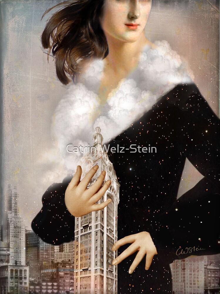 Over Manhattan by Catrin Welz-Stein
