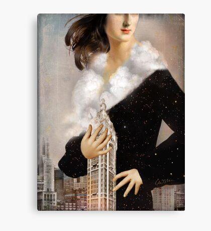 Over Manhattan Canvas Print