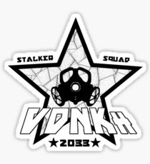 VDNKh Stalker Squad [Black Version] Sticker