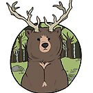 deerbear by shinypigeon