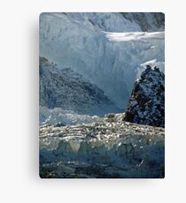 Iced keyboard Canvas Print