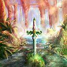 Spectrum of Mana: Sword in the Stone by LightningArts