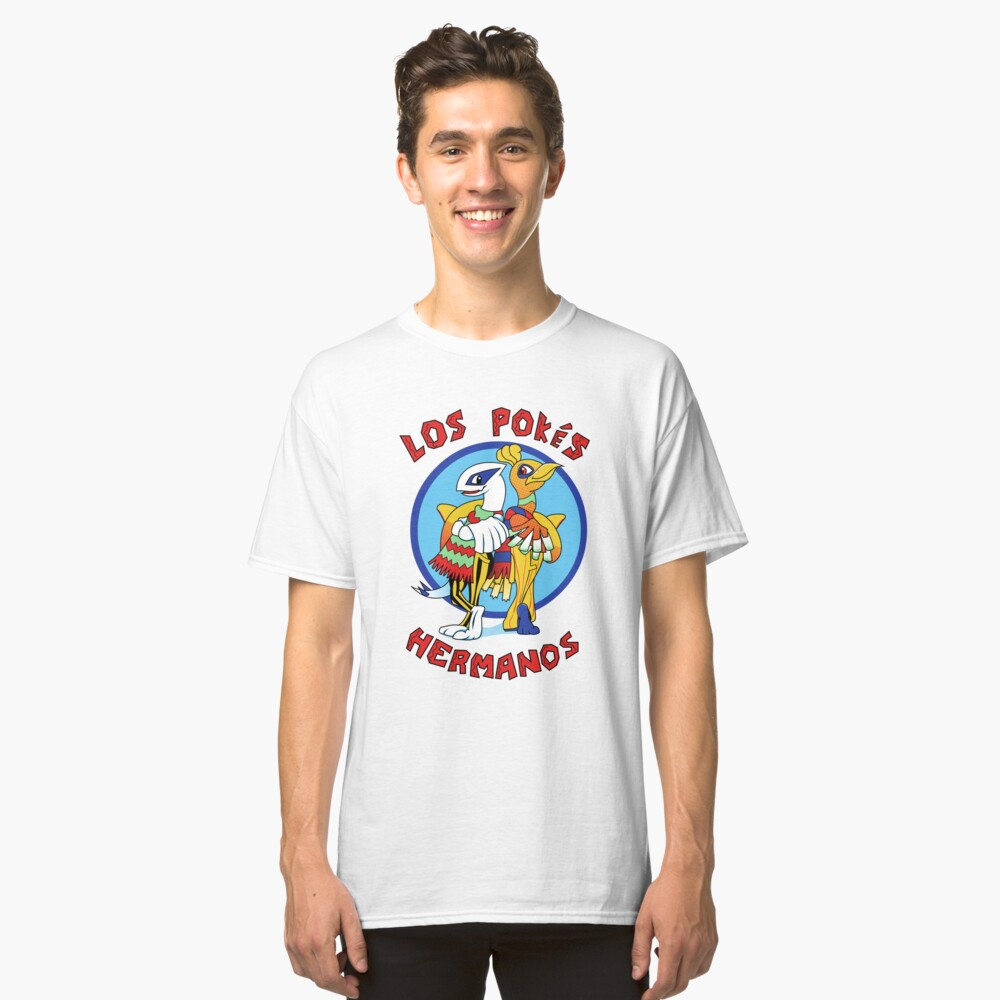 Los Pokés Hermanos Classic T-Shirt Front