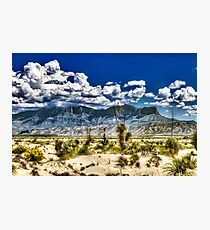 Guadalupe Mountains of West Texas Photographic Print