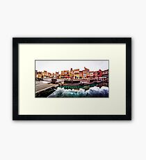 The Stunt Show Framed Print