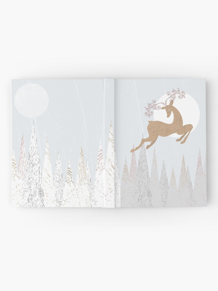 Alternate view of Christmas Deer Hardcover Journal