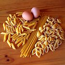 Pasta and eggs by DBigwood