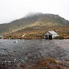 Dove lake Boat House by Rodney Wallbridge