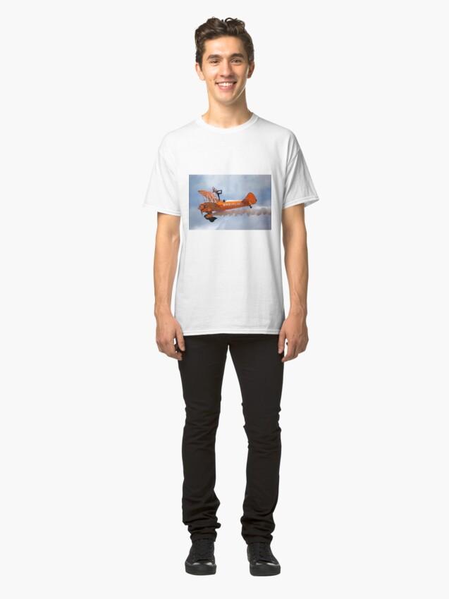 Alternate view of Breitling Wingwalking Team's Stearman Classic T-Shirt
