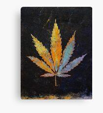 Cannabis Canvas Print