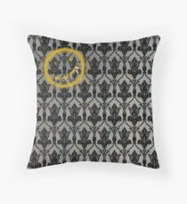 Sherlock 221B Baker Street Wall Throw Pillow