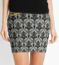 Sherlock 221B Baker Street Wall Mini Skirt
