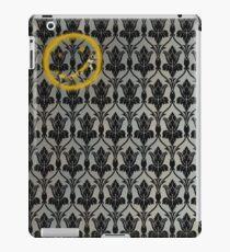 Sherlock 221B Baker Street Wall iPad Case/Skin
