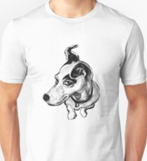 Jumpin Jack Russell ~ Black and white T-Shirt