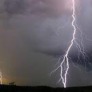 Sunset lightning by Rodney Wallbridge