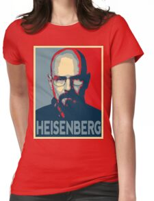 Obamized Mr Heisenberg (Red) Womens Fitted T-Shirt