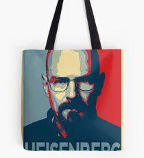 Obamized Mr Heisenberg (Light Blue) Tote Bag