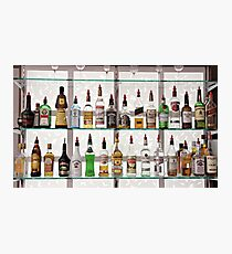 Alcohol Bar Photographic Print