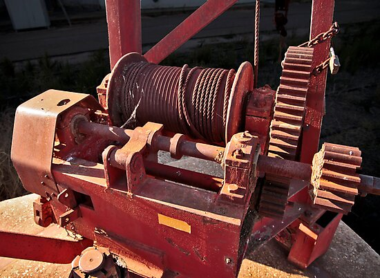 Big Red Winch by Stephen Mitchell