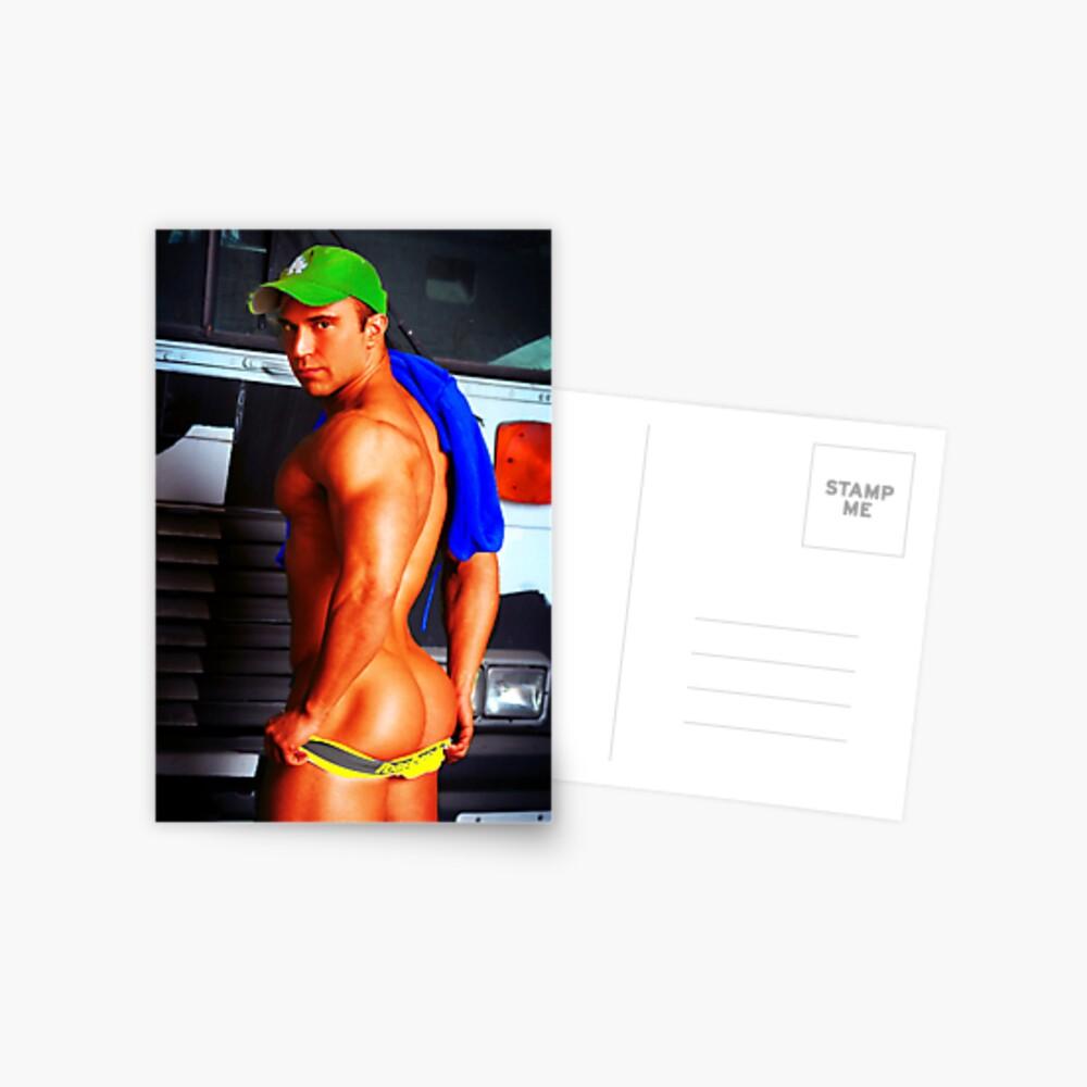 Colorful Trucker Postkarte