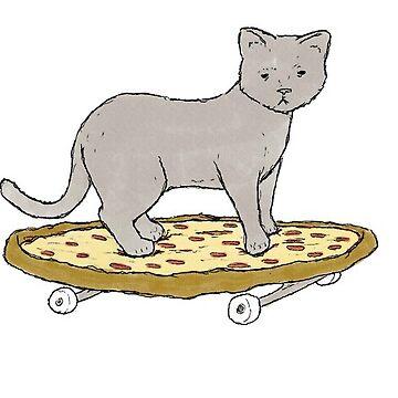 Gato de pizza de Canyounotqueenb