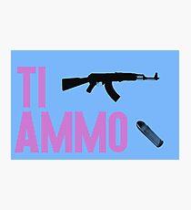 Ti ammo Photographic Print