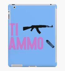 Ti ammo iPad Case/Skin