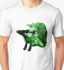 Green Hedgehog Unisex T-Shirt