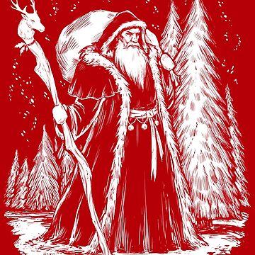 Saint Nicholas by heliumash