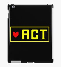 ACT iPad Case/Skin