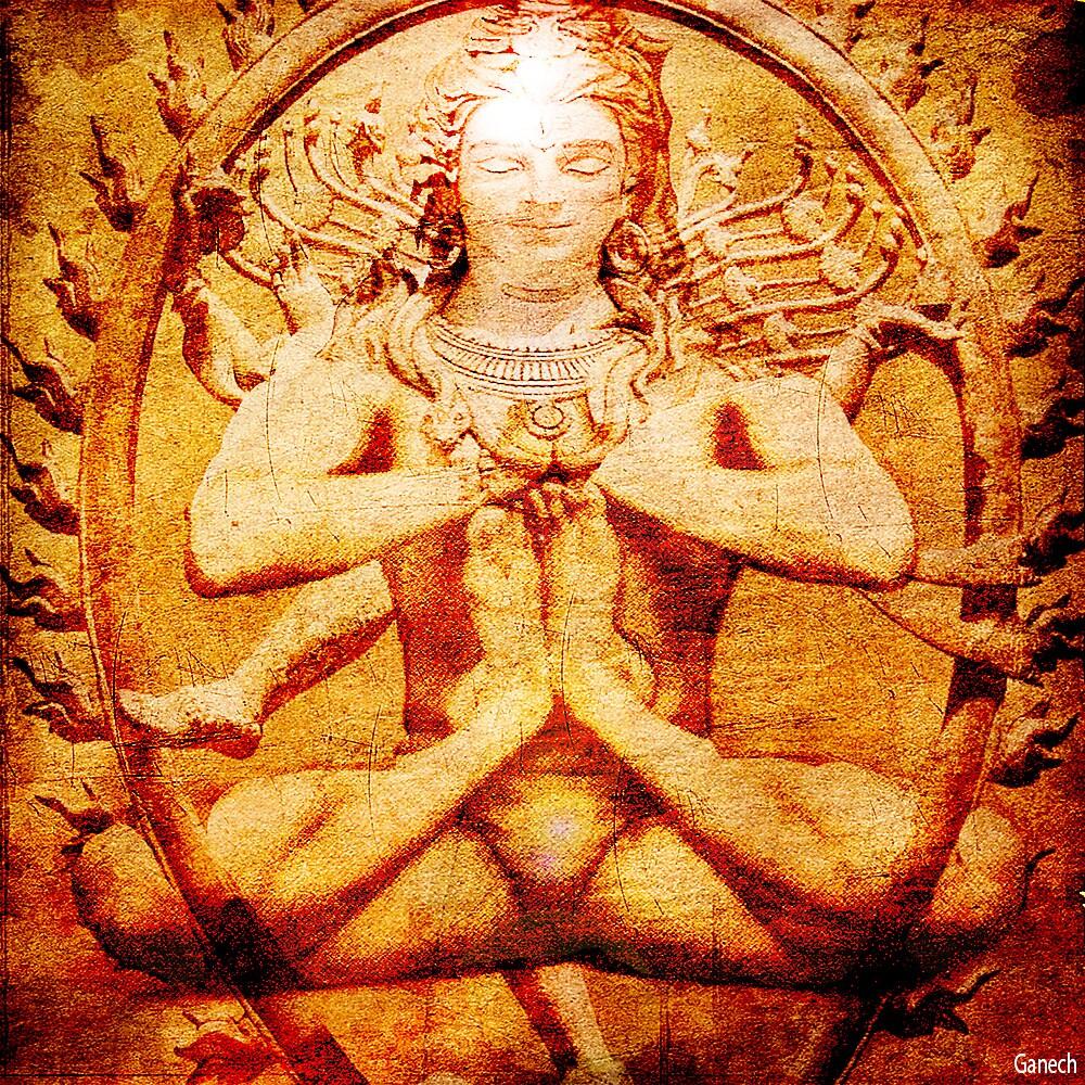 Yoga by Shiva by ganechJoe