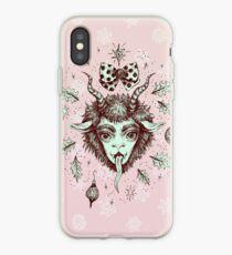 Merry Krampus!  iPhone Case