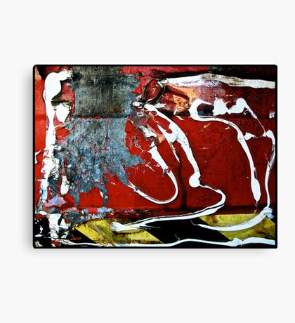 Messed Up Canvas Print