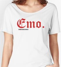 Emo. Women's Relaxed Fit T-Shirt