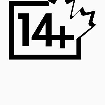 TV 14+ (Canada) black by bittercreek