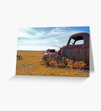 Prairie Rust Greeting Card