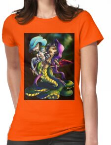 Into the Shadows Womens Fitted T-Shirt