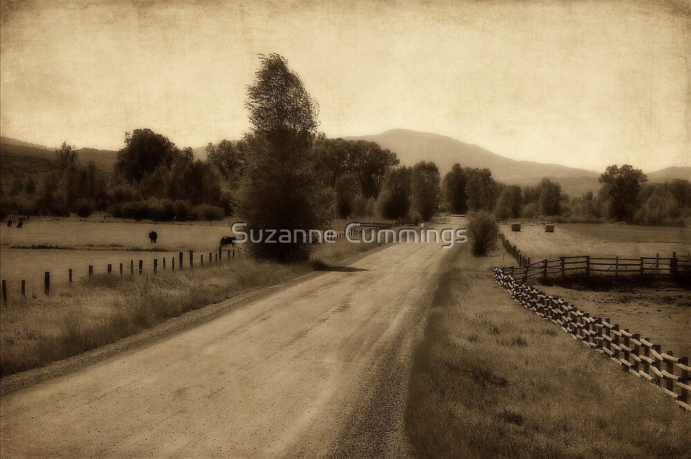 Red Dirt Road by Suzanne Cummings