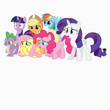 (Most of) The Mane Six are Disgusted by m33rkat