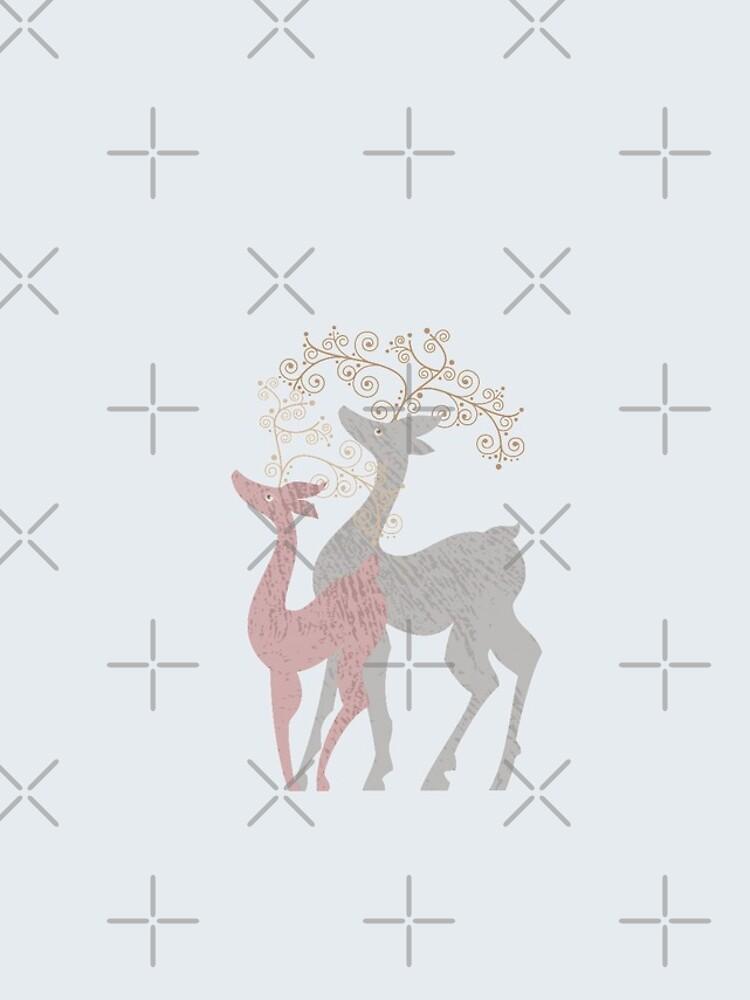 Couple of Deer by rusanovska