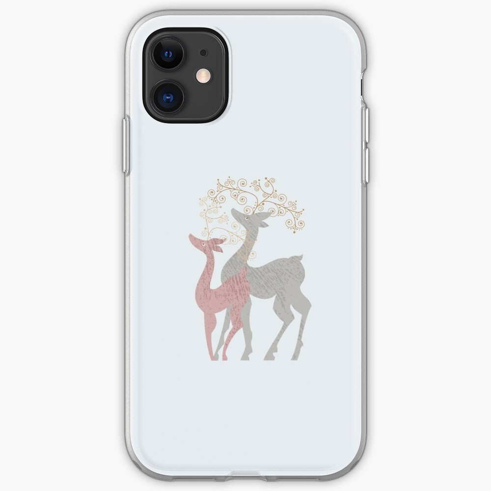 Couple of Deer iPhone Case & Cover