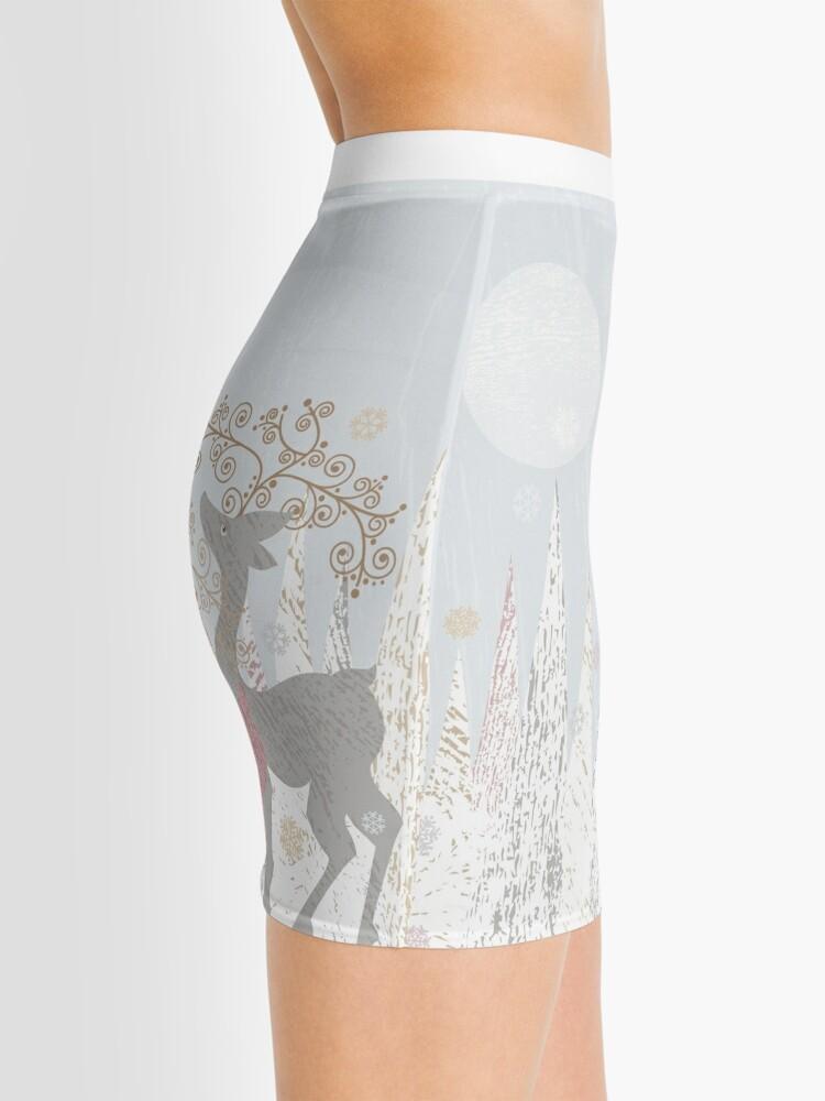 Alternate view of Couple of Deer Mini Skirt