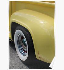 Yellow Cream Poster