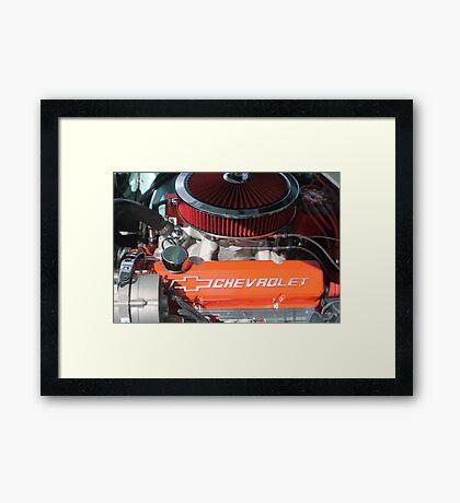 Reven Up Framed Print