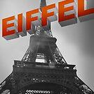eiffel tower by Vin  Zzep