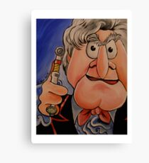 Statler, Third Doctor Canvas Print