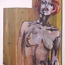 nude on wood 2. by resonanteye