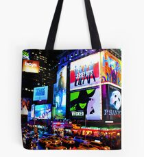 Times Square Broadway Tote Bag